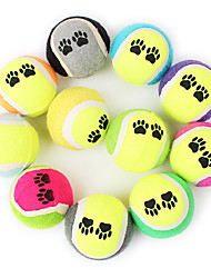 cheap -Dog Toy Pet Toys Ball Chew Toy Tennis Ball Sponge For Pets