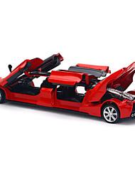 Недорогие -Игрушечные машинки Модель авто Гоночная машинка моделирование Музыка и свет Универсальные Мальчики Игрушки Подарок / Металл
