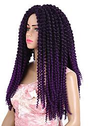 cheap -Crochet Classic High Quality Human Hair Extensions Hair Accessory Pre-loop Crochet Braids Hair Braids Daily