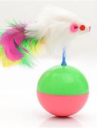 preiswerte -Katze Katzenspielsachen Haustierspielsachen Maus-Spielzeug Becher Für Haustiere