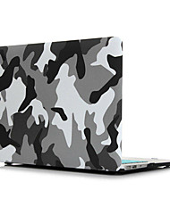 "baratos -Capa para MacBook para camuflagem PU Leather Para o Novo MackBook Pro 15"" Para o Novo MackBook Pro 13"" MacBook Pro 15 Polegadas MacBook"