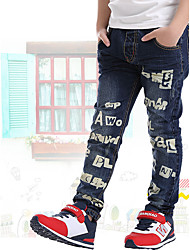 cheap -Kids Boys' School / Going out Print Cotton Jeans