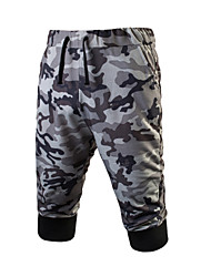 Men's Mid Rise strenchy Chinos Sweatpants Pants,Active Loose Straight Stripe Animal Pattern Solid Leopard