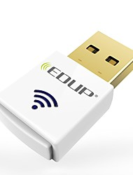 economico -Edup ep-ac1619 doppio banda 2.4g / 5.8ghz ac600mbps mini usb wireless wi-fi dongle 600mbps usb wifi adattatore