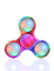 Fidget Spinner LED Hand Spinner Toys Ring Spinner ABS EDCStress and Anxiety Relief Office Desk Toys for Killing Time Focus Toy Relieves ADD,