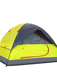 economico -3-4 persone Tenda Doppio Tenda da campeggio Due camere Tenda ripiegabile Ompermeabile Portatile per Escursionismo Campeggio 2000-3000 mm