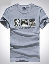 preiswerte -Herrn T-Shirt für Wanderer Atmungsaktiv T-shirt Oberteile für Angeln Sommer L XL XXL XXXL XXXXL