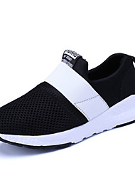Boys' Loafers & Slip-Ons Light Soles Tulle Spring Fall Casual Walking Light Soles Gore Flat Heel Black Blue Blushing Pink 2in-2 3/4in
