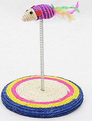 cheap -Cat Cat Toy Pet Toys Mouse Toy Scratch Pad Sisal For Pets