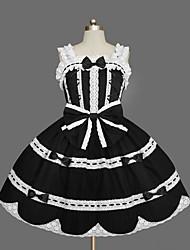 cheap -Gothic Lolita Dress Sweet Lolita Dress Princess Punk Women's Girls' JSK / Jumper Skirt Cosplay Cap Sleeveless Short / Mini