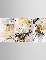 cheap -Still Life Classic European Style, Three Panels Canvas Vertical Print Wall Decor Home Decoration