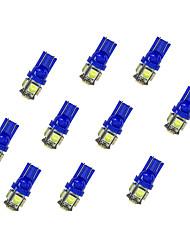 economico -10pcs t10 5 * 5050 smd ha condotto la luce del bule della lampadina dell'automobile dc12v
