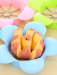 1Pcs  Flower Apple Cutter Knife Sliced Apple Coring 19X 5Cm Stainless Steel Kitchen Cooking Fruit Vegetable Tools Shredders Slicers Random  Color
