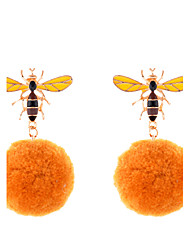 cheap -Women's Drop Earrings - Luxury / Unique Design / Pendant Yellow Circle Earrings For Wedding / Party / Special Occasion