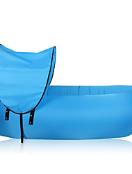 cheap -Fonoun Inflatable Sofa Sleep lounger / Air Sofa / Air Bed Outdoor Camping Portable, Fast Inflatable, Waterproof Polyester Taffeta Beach,