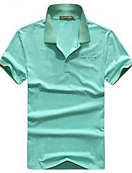 Homme Tee-shirt de Randonnée Respirable Tee-shirt Hauts/Top pour Pêche Eté M L XL XXL XXXL
