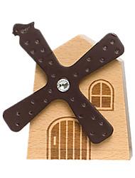 Недорогие -музыкальная шкатулка Ветряная мельница Дерево Универсальные Игрушки Подарок