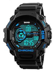 cheap -SKMEI Men's Digital Digital Watch Wrist Watch Military Watch Sport Watch Japanese Alarm Calendar / date / day Chronograph Water Resistant