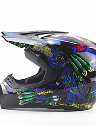 Off-Road Motorcycle Racing Helmet Wolf Dewclaw Full Face Speed Racing Durable Motorsport Helmet