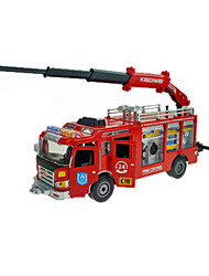 cheap -Fire Engine Vehicle Toy Truck Construction Vehicle Toy Car 1:50 ABS Metal Rubber Unisex Kid's Toy Gift