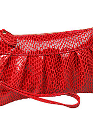 cheap -Women's Bags Cowhide Clutch for Wedding / Event / Party / Formal Red / Camel / Pinky