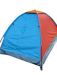 1 persona Tenda Singolo Tenda da campeggio Due camere Tenda ripiegabile Antiumidità Ompermeabile Anti-pioggia Traspirabilità per