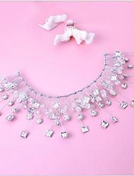 Rhinestone crystal headpiece-wedding ocasião especial tiaras headbands 1 peça