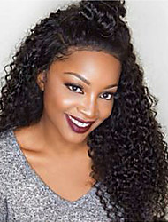 20-26inch Lace Front Wigs Kinky Curl  Human Hair Lace Wigs For Women