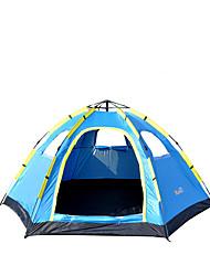 5-8 Pessoas Tenda Único Barraca de acampamento Um Quarto Tenda Automática Á Prova de Humidade Prova-de-Água Á Prova-de-Chuva