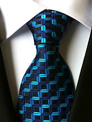 abordables -Homme Travail Décontracté A Rayures Cravate Rayé