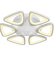 6 Heads Modern Style Simplicity Acrylic LED Ceiling Lamp Flush Mount Living Room Dining Room Bedroom light Fixture
