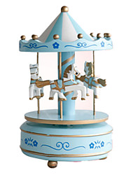 cheap -Music Box Carousel Merry Go Round Cute Party Kid's Adults Kids Gift Unisex