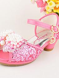 Da ragazza-scarpe da sposa-Matrimonio Formale Casual Serata e festa-Comoda Innovativo Scarpe Flower Girl-Piatto-Lustrini Finta pelle-