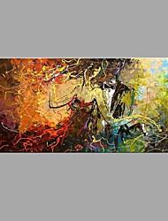 Peint à la main Abstrait Horizontale,Moderne Classique Un Panneau Toile Peinture à l'huile Hang-peint For Décoration d'intérieur