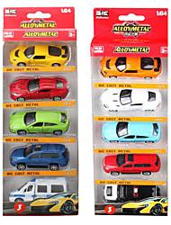 economico -Macchine giocattolo Giocattoli Ruspa Auto della polizia Quadrato Lega di metallo Regalo Action & Toy Figures Giochi d'azione