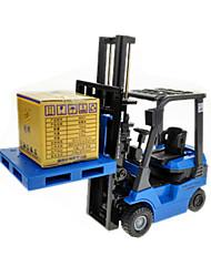 economico -Giocattoli Modellino e gioco di costruzione Carrello elevatore ABS Gomma Metallo