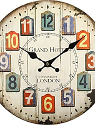cheap -Seven Styles Reloj Large Wall Clock Design Fashion Silent Living Room Wall Decor Saat Home Decoration