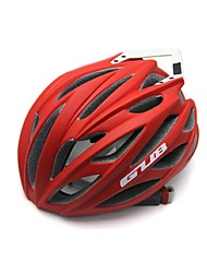 Sports Unisex Bike Helmet 26 Vents Cycling Cycling Mountain Cycling Road Cycling PC EPS Carbon Fiber  EPS Red and Built-in 3D Keel