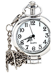 cheap -Men's Wrist watch Pocket Watch Fashion Watch Quartz Casual Watch Alloy Band Charm Silver