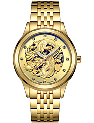 Недорогие -Tevise Мужской Для пары Спортивные часы Часы со скелетом Модные часы Механические часы Кварцевый С автоподзаводомКалендарь Защита от