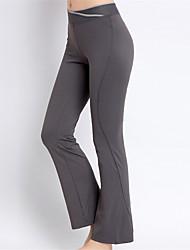 economico -Pantaloni da yoga Calze/Collant/Cosciali Traspirante Asciugatura rapida Naturale Elevata elasticità Abbigliamento sportivo Per donnaYoga