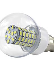 cheap -6W 280 lm B22 LED Globe Bulbs 69 leds SMD 5730 Warm White Cold White AC85-265 AC 85-265V