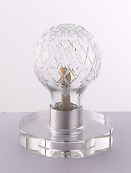 3 Modern/Contemporary Desk Lamp , Feature for LED , with Chrome Use 3-Way Switch