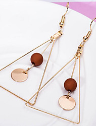 cheap -Women's Drop Earrings - Simple Style Triangle For Daily