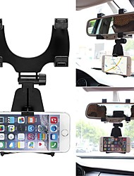 cheap -ZIQIAO 360 Degree Car Auto Rearview Mirror Mount Cell Phone Holder Bracket Stands Stand Cradle For Samsung For iPhone Mobile Phone GPS