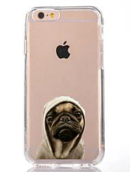 preiswerte -Für iPhone X iPhone 8 Hüllen Cover Transparent Muster Rückseitenabdeckung Hülle Hund Weich TPU für Apple iPhone X iPhone 8 Plus iPhone 8