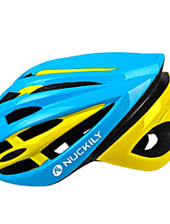 NUCKILY Bike Helmet Cycling  PC/EPS 15 Vents Protective Ride Helmet