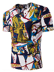 3 colors M-3XL Hot Sale  Formal Business Dress shirt   Men's Casual/Daily Simple Summer ShirtSolid Print Peter Pan Collar Long Sleeve Cotton