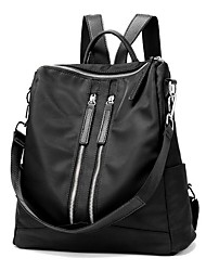 cheap -Women's Bags Oxford Cloth Backpack for Casual Camping & Hiking Outdoor All Seasons Black