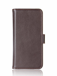 Case for Mi 6 Redmi Note 4 Cover Card Holder Wallet with Stand Flip Magnetic Full Body Case Solid Color Hard Genuine Leather for xiaomi Regmi 4X
